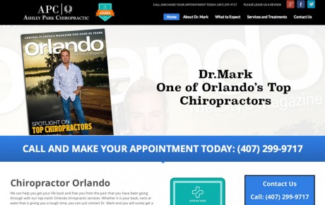 Ashley Park Chiropractic | Portfolio | Orange Rock Media