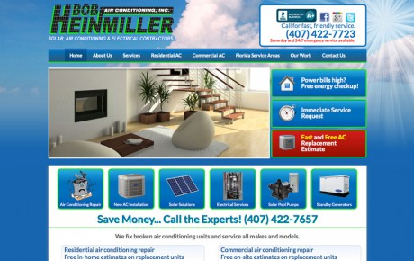 Bob Heinmiller AC Repair | Portfolio | Orange Rock Media