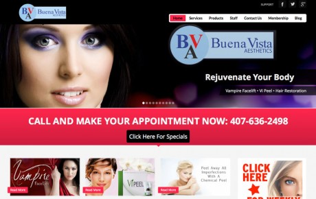 Buena Vista Aesthetics | Portfolio | Orange Rock Media