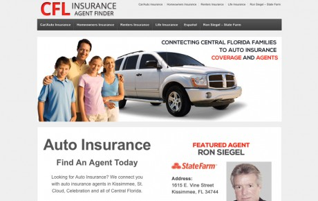 CFL Insurance Agent Finder | Portfolio | Orange Rock Media