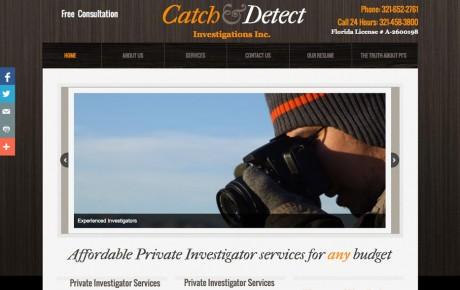 Catch & Detect Investigations | Portfolio | Orange Rock Media