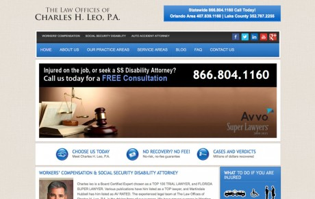 Charles Leo Attorney at Law | Portfolio | Orange Rock Media