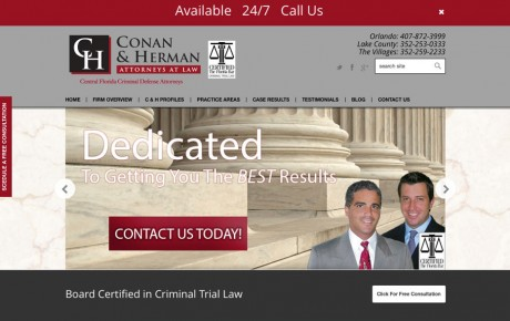 Conan & Herman Attorneys at Law | Portfolio | Orange Rock Media