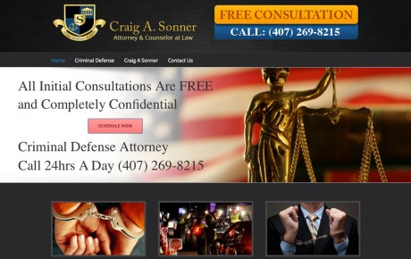 Craig A Sonner Attorney at Law | Portfolio | Orange Rock Media