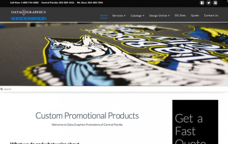Data Graphics Promotions | Portfolio | Orange Rock Media