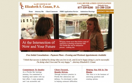 Elizabeth S Conan Attorney | Portfolio | Orange Rock Media