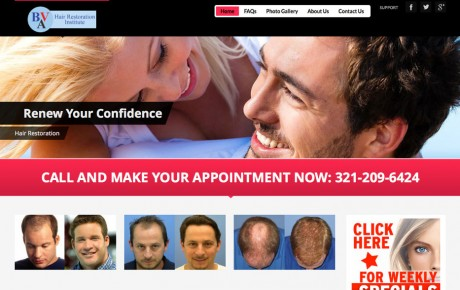 Hair Restoration Institute | Portfolio | Orange Rock Media