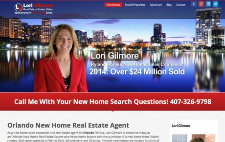 Lori Gilmore Real Estate | Portfolio | Orange Rock Media