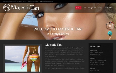 Majestic Tan | Portfolio | Orange Rock Media
