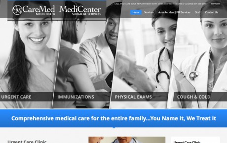 MediCenter Surgical Services Orlando | Portfolio | Orange Rock Media